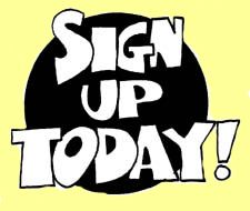 Image result for please sign up clipart